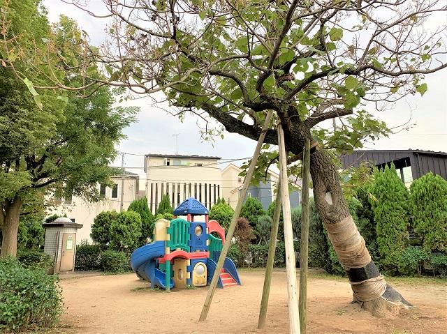きんたろう公園の遊具