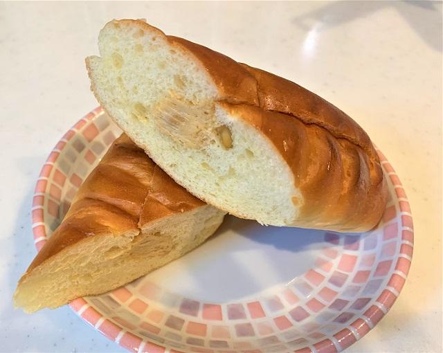 練乳フランスピーナッツ切り口